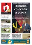 Página inicial do jornal