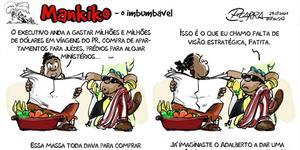 Mankiko, o Imbumbável, visão estratégica