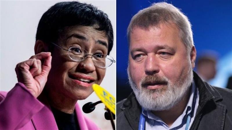 Prémio Nobel da Paz para dois jornalistas e através deles para a liberdade de expressão