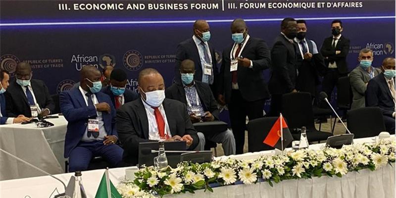 Ministro da Indústria e Comércio no III Fórum Económico e Empresarial Turquia-África