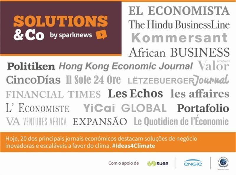 Expansão na rede de jornais económicos que promovem negócios amigos do ambiente